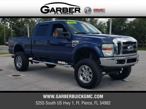 Pre-Owned 2008 Ford F-250 Lariat 4X4 Lifted 4WD