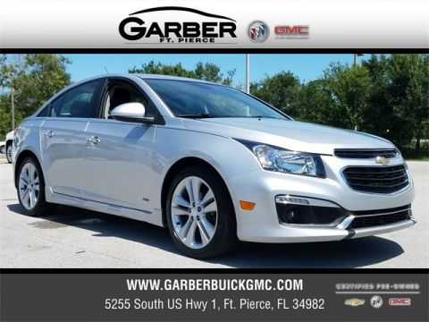 Certified Pre-Owned 2015 Chevrolet Cruze LTZ