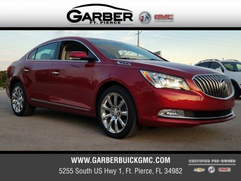 Certified Pre-Owned 2014 Buick LaCrosse Leather Group