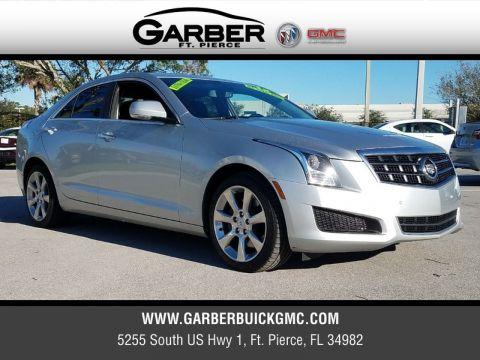 Pre-Owned 2013 Cadillac ATS 3.6L Luxury AWD AWD