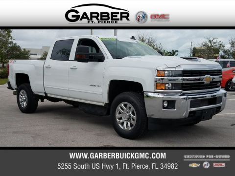 Certified Pre-Owned 2017 Chevrolet Silverado 2500HD LT 4X4 4WD
