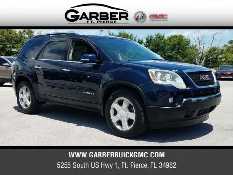 Pre-Owned 2008 GMC Acadia SLT-2