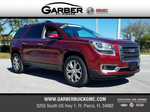 Certified Pre-Owned 2015 GMC Acadia SLT-2