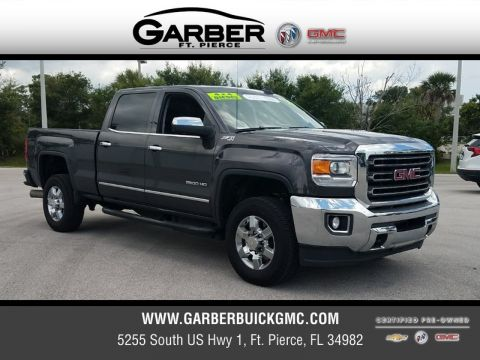 Certified Pre-Owned 2016 GMC Sierra 2500HD SLT 4WD