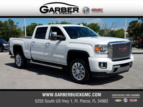Certified Pre-Owned 2016 GMC Sierra 2500HD Denali 4X4 4WD