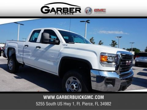 New 2018 GMC Sierra 2500HD Double Cab 4x4 4WD