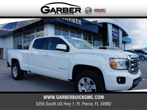 Certified Pre-Owned 2016 GMC Canyon SLE long bed
