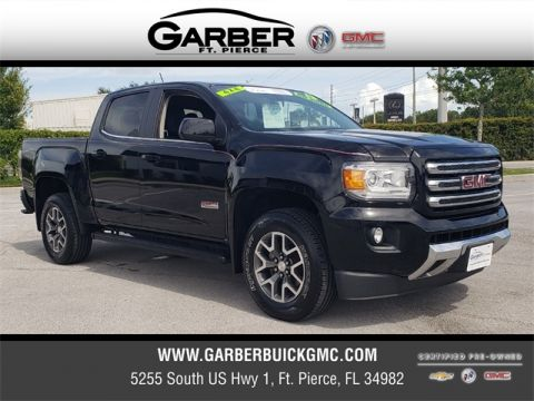 Certified Pre-Owned 2015 GMC Canyon SLE1 4WD