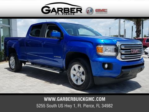 New 2018 GMC Canyon SLE 4WD