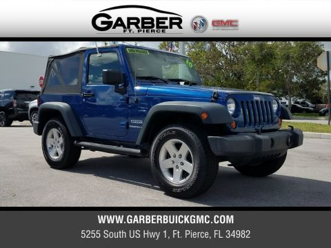 Pre-Owned 2010 Jeep Wrangler Sport Power Group 4WD