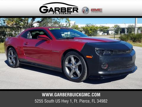 Pre-Owned 2014 Chevrolet Camaro LT w/1LT RS