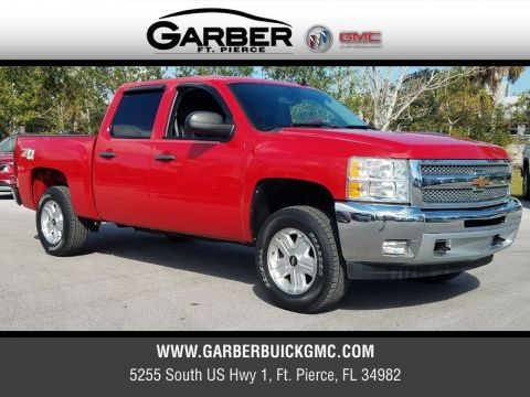 Certified Pre-Owned 2012 Chevrolet Silverado 1500 LT 4x4 4WD