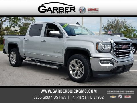 Certified Pre-Owned 2017 GMC Sierra 1500 SLT 4x4 4WD