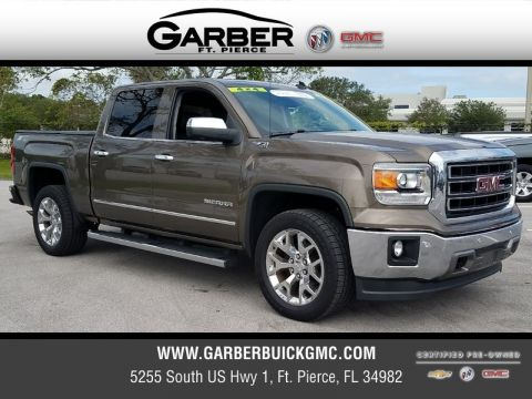 Certified Pre-Owned 2014 GMC Sierra 1500 SLT 4x4 4WD