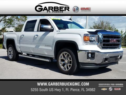 Certified Pre-Owned 2015 GMC Sierra 1500 SLT 4x4 4WD