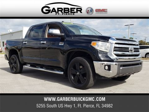 Pre-Owned 2016 Toyota Tundra 1794 4WD