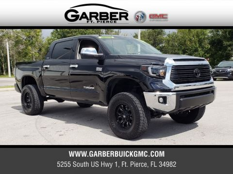 Pre-Owned 2017 Toyota Tundra Limited 5.7L V8 w/FFV 4WD