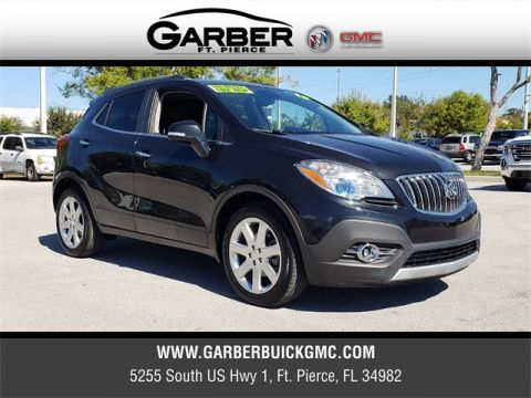 Certified Pre-Owned 2015 Buick Encore Leather