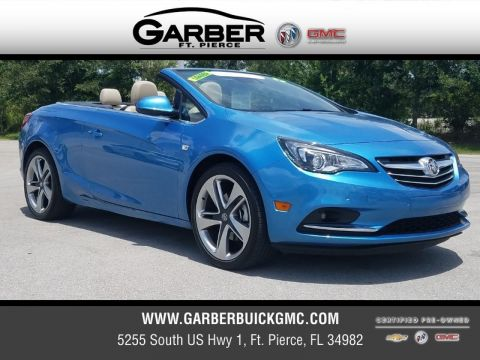 Certified Pre-Owned 2017 Buick Cascada Sport Touring