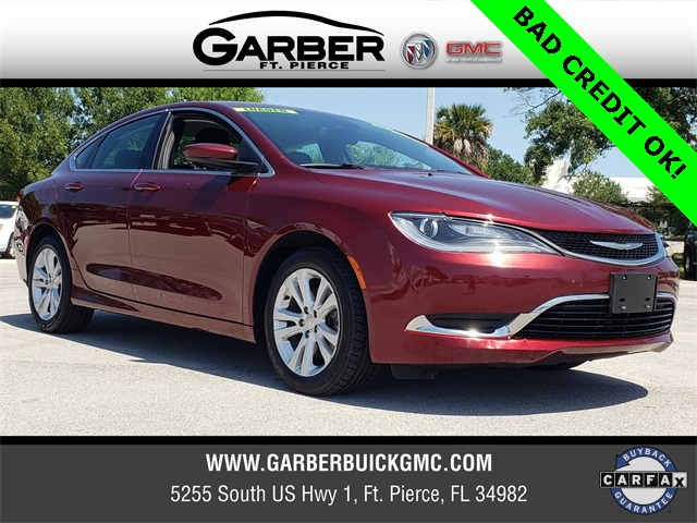 2015 Chrysler 200 For Sale >> Pre Owned 2015 Chrysler 200 For Sale In Ft Pierce Fl At Garber