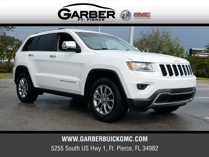 pre owned 2015 jeep grand cherokee for sale in ft pierce fl at garber buick gmc 7654354p. Black Bedroom Furniture Sets. Home Design Ideas