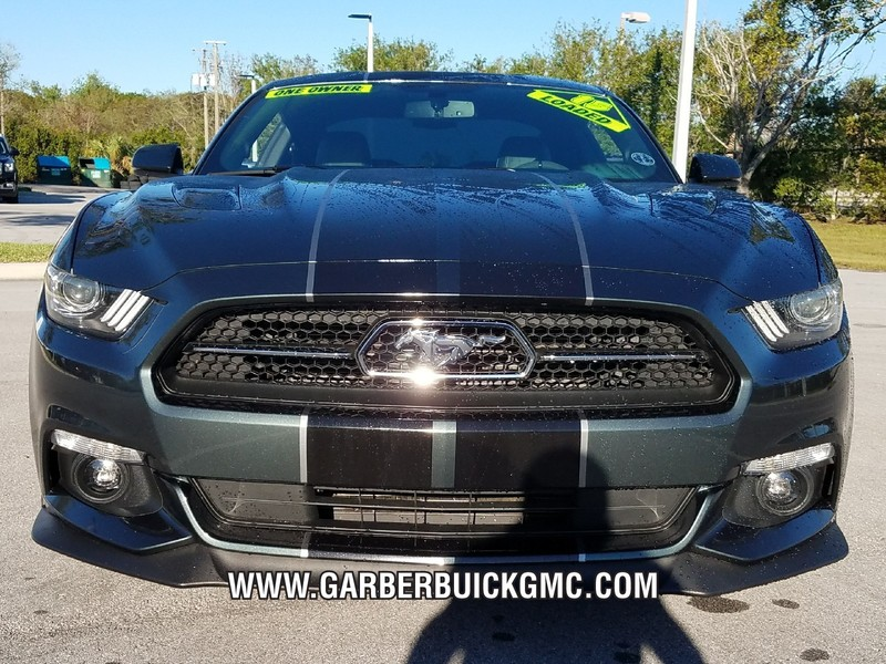 Pre-Owned 2015 Ford Mustang GT Premium 50th anniversary edition