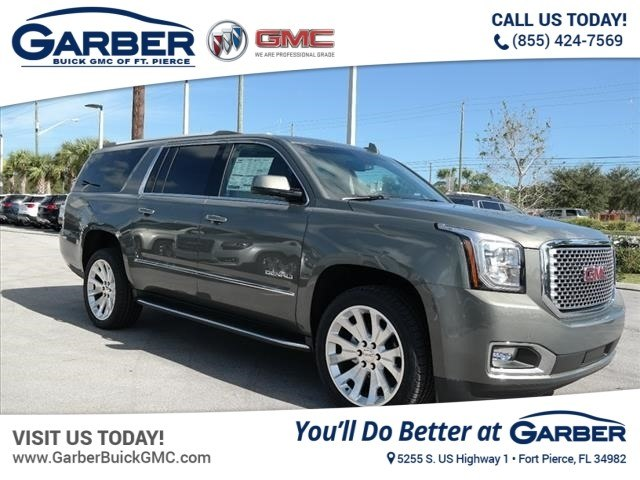 new 2017 gmc yukon xl for sale in ft pierce fl at garber. Black Bedroom Furniture Sets. Home Design Ideas