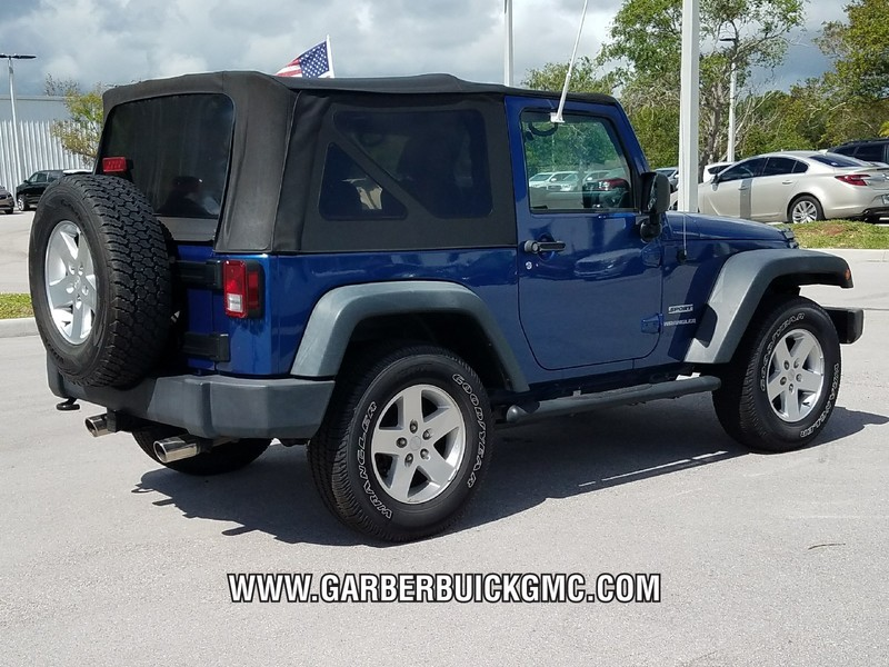 Pre-Owned 2010 Jeep Wrangler Sport Power Group