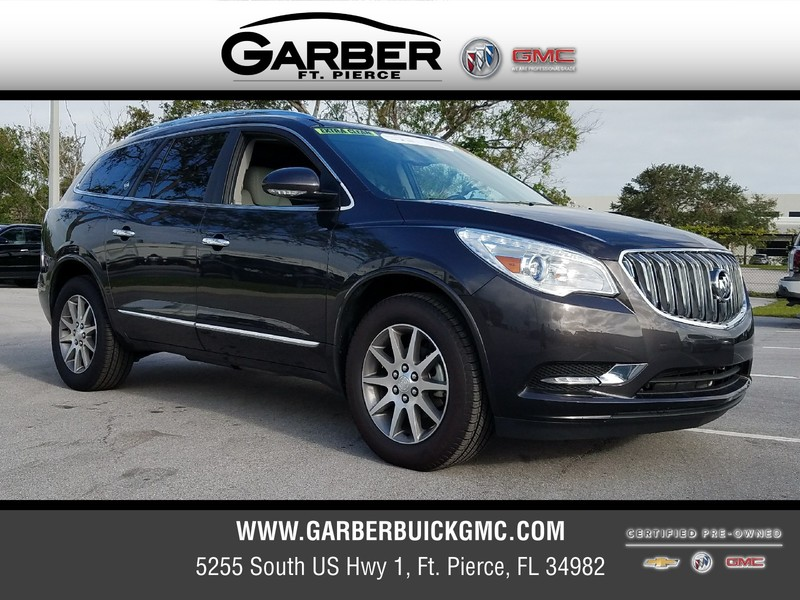 certified pre owned 2017 buick enclave for sale in ft pierce fl at garber buick gmc 7193329p. Black Bedroom Furniture Sets. Home Design Ideas