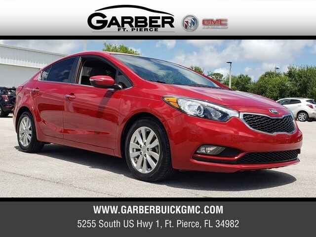 Kia Fort Pierce >> Pre Owned 2015 Kia Forte Ex Fwd 4d Sedan