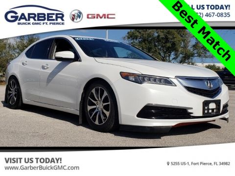Pre-Owned 2015 Acura TLX 2.4L With Navigation