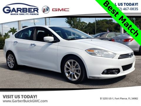 Pre-Owned 2015 Dodge Dart Limited With Navigation