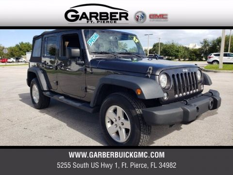 Pre-Owned 2017 Jeep Wrangler Unlimited Sport 4WD