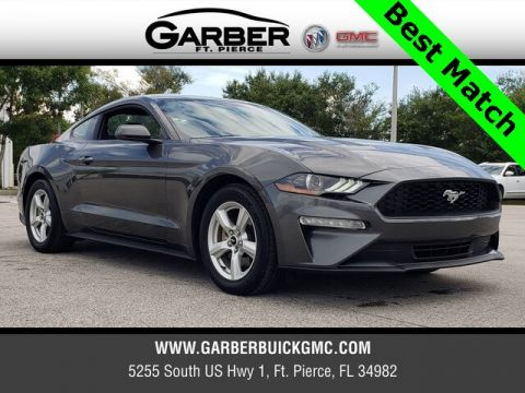 Pre-Owned 2018 Ford Mustang EcoBoost RWD 2D Coupe