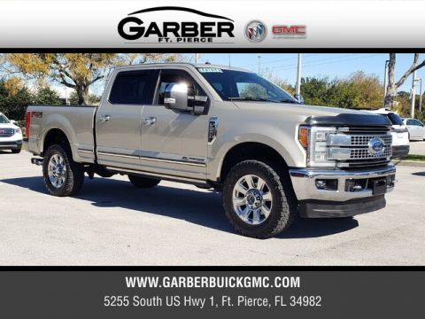 Pre-Owned 2017 Ford F-250SD Platinum With Navigation & 4WD