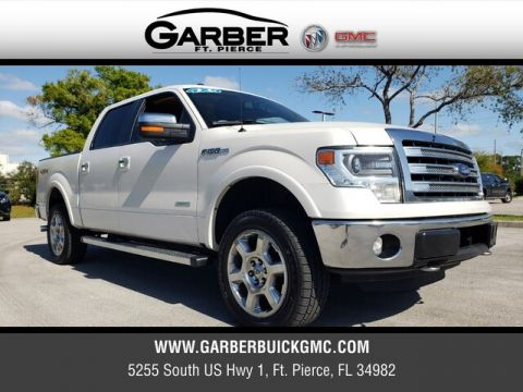 Pre-Owned 2017 Ford F-150 Lariat With Navigation & 4WD