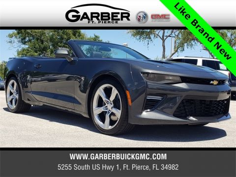 Pre-Owned 2018 Chevrolet Camaro SS RWD 2D Convertible