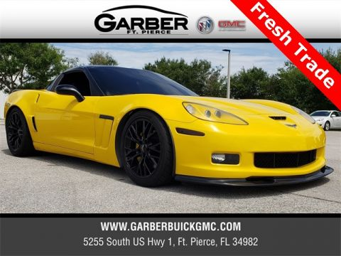 Pre-Owned 2012 Chevrolet Corvette Grand Sport RWD 2D Coupe
