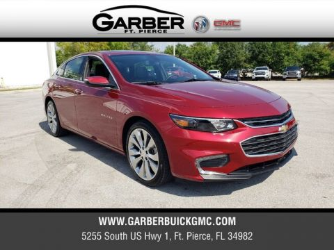 Pre-Owned 2018 Chevrolet Malibu Premier With Navigation