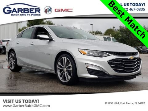 Pre-Owned 2019 Chevrolet Malibu Premier With Navigation