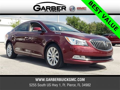Certified Pre-Owned 2015 Buick LaCrosse Leather Group