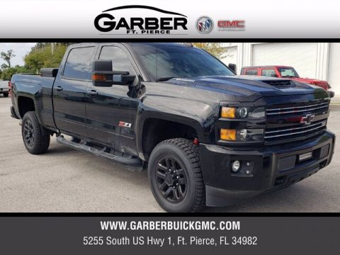 Pre-Owned 2017 Chevrolet Silverado 2500HD LTZ With Navigation & 4WD
