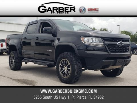 Pre-Owned 2018 Chevrolet Colorado ZR2 With Navigation & 4WD