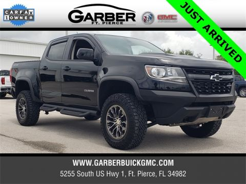 Pre-Owned 2018 Chevrolet Colorado ZR2 4WD