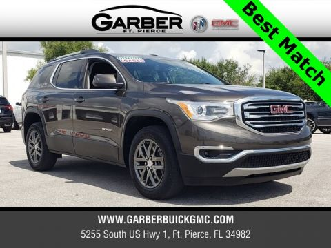 Pre-Owned 2019 GMC Acadia SLT-1 With Navigation