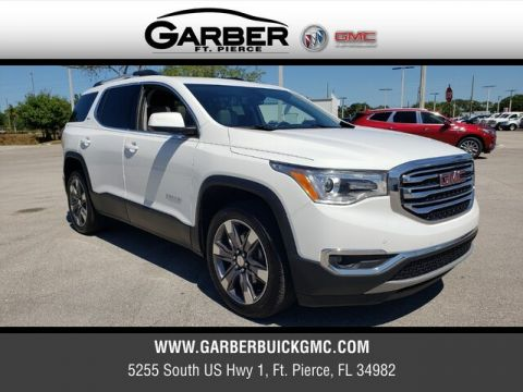 Pre-Owned 2019 GMC Acadia SLT-2 With Navigation