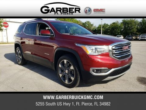 Pre-Owned 2018 GMC Acadia SLT-2 With Navigation