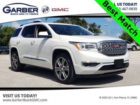 Pre-Owned 2017 GMC Acadia Denali With Navigation