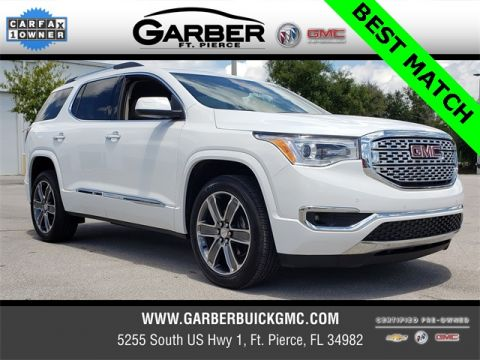 Certified Pre-Owned 2019 GMC Acadia Denali