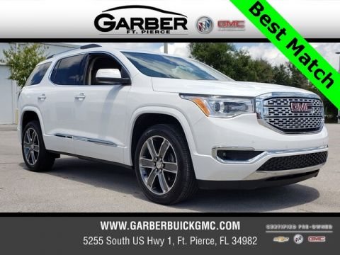 Certified Pre-Owned 2019 GMC Acadia Denali With Navigation